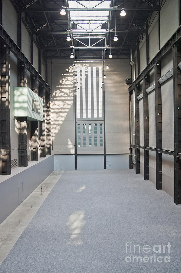 Architectural Detail Photograph - Turbine Hall Of Tate Modern by John Harper