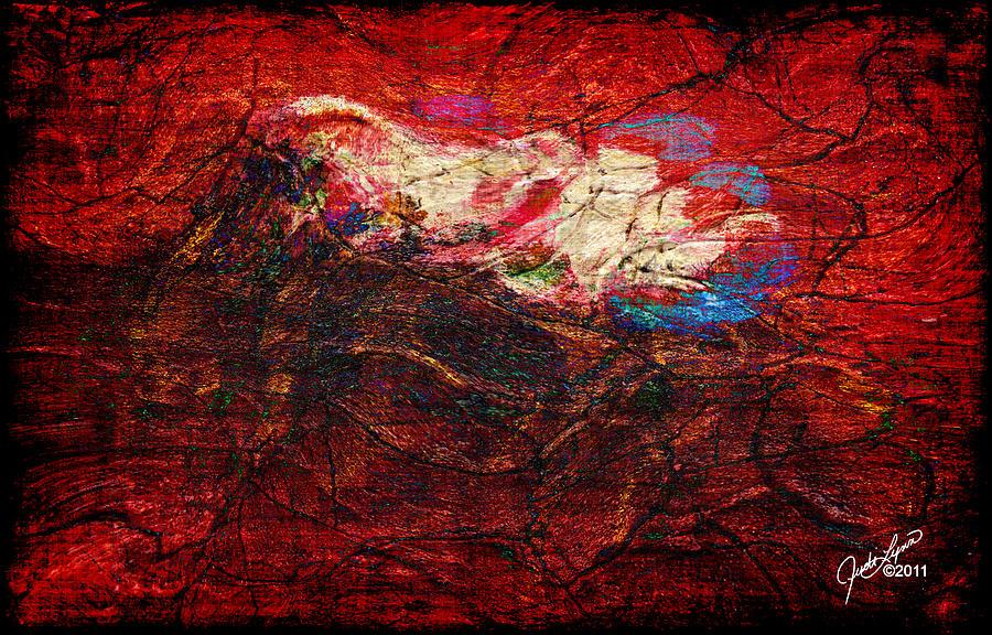 Turbulance Painting - Turbulance by The Art Of JudiLynn