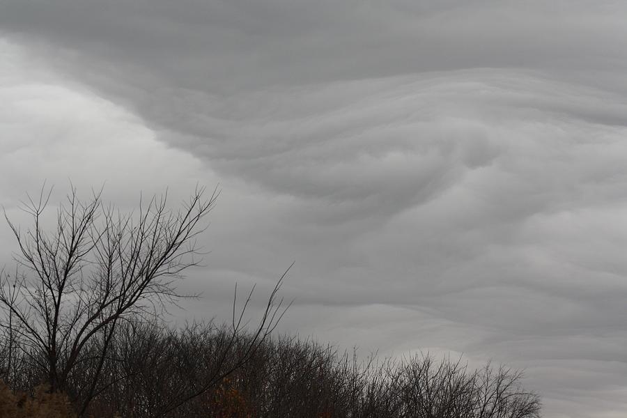 Turbulent Skies Photograph - Turbulent Sky by Deb Kline