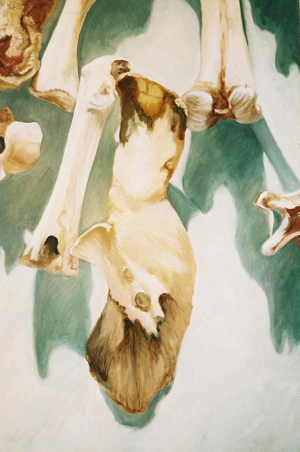 Bones Painting - Turkey Bone Thugs N Harmony by Gina Riva