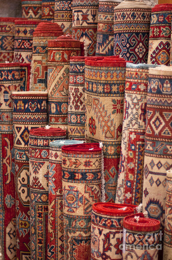 Turkish Carpets Photograph By Andrew Michael