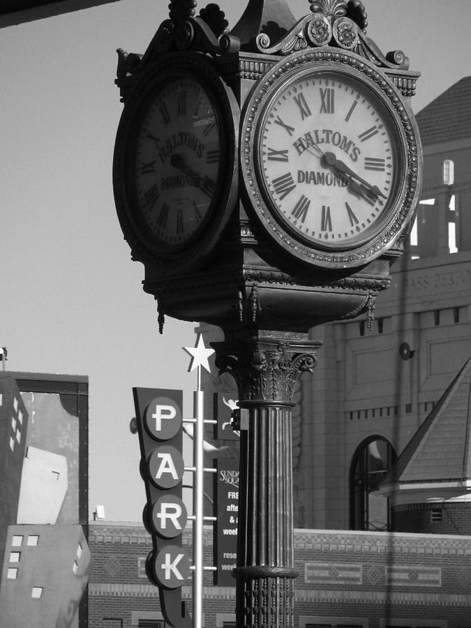 Black And White Photography Photograph - Turning Back Time by Shawn Hughes