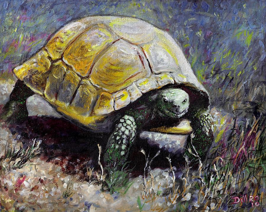 Turtle Painting by Rust Dill