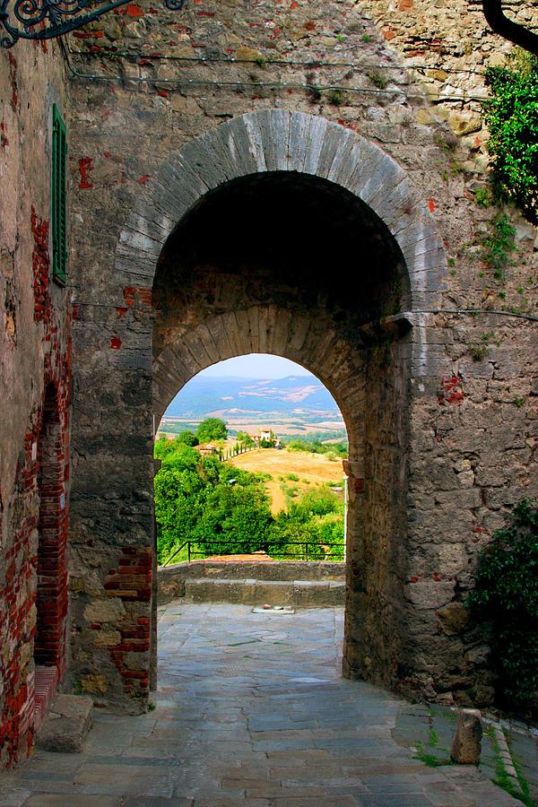 Tuscan Arch Photograph By John Galbo
