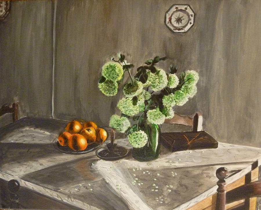 Still Life Painting - Tuscan Kitchen by Demian Legg