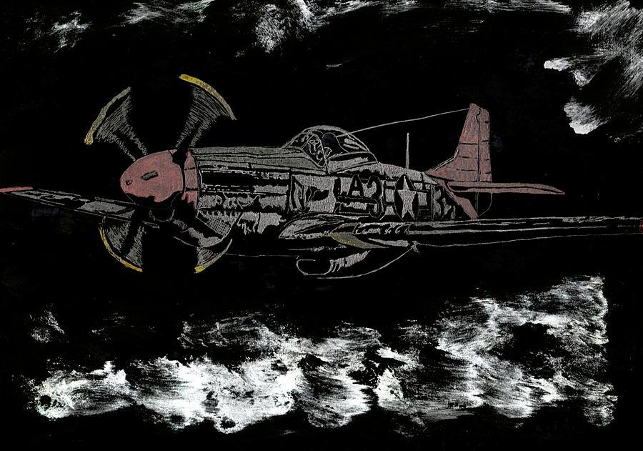Tuskegee Airmen Sculpture - Tuskegee Night Flight by Jim Ross