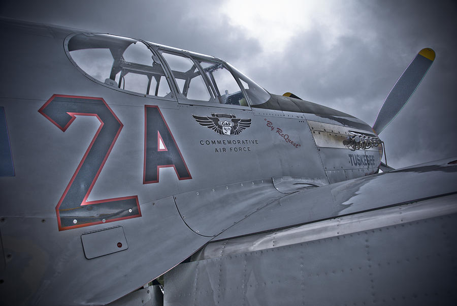Tuskegee Photograph - Tuskegee P-51 by Eric Miller