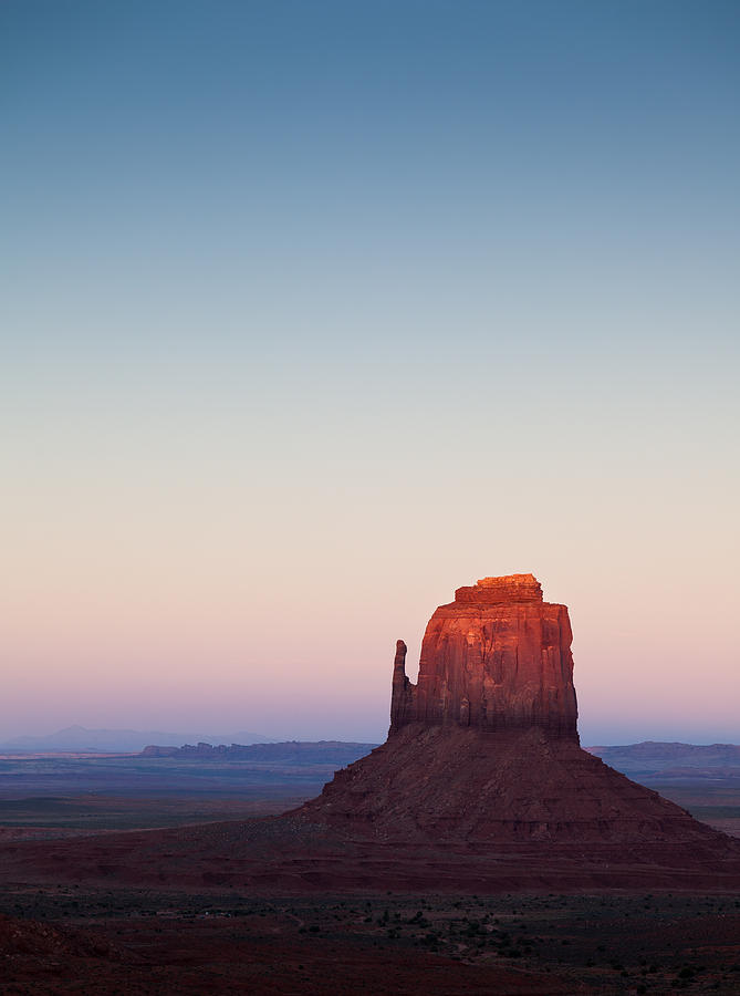 Monument Valley Photograph - Twilight In The Valley by Dave Bowman