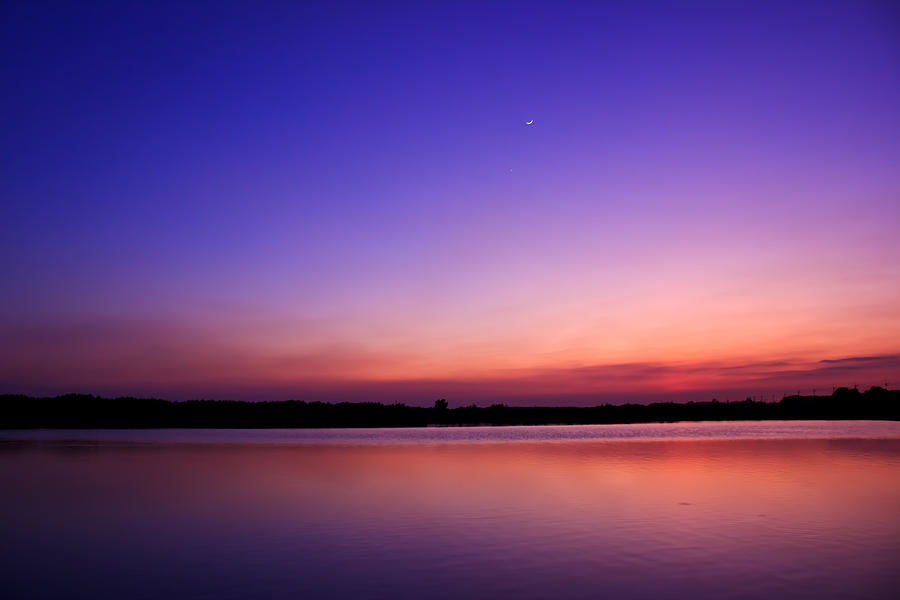Nautical Twilight Time Photograph By Natapol Chananuwong