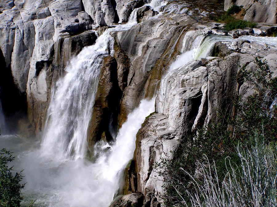 Water Photograph - Twin Falls II by Mark Caldwell
