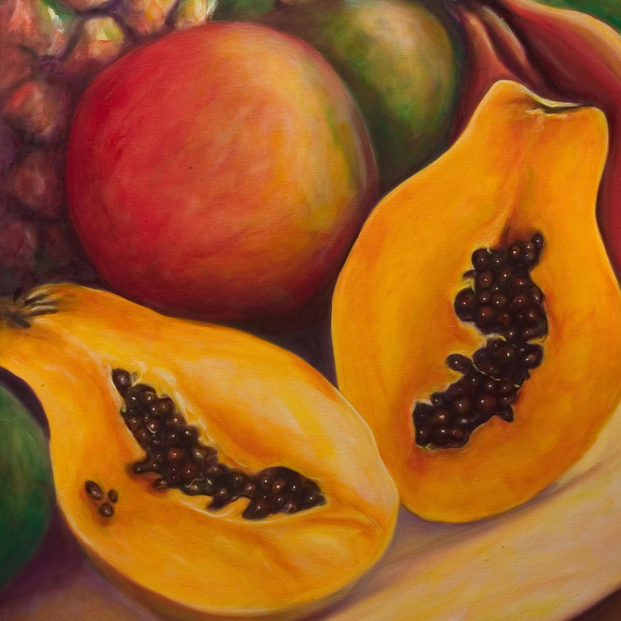 Twins Painting - Twins Crop by Shannon Grissom