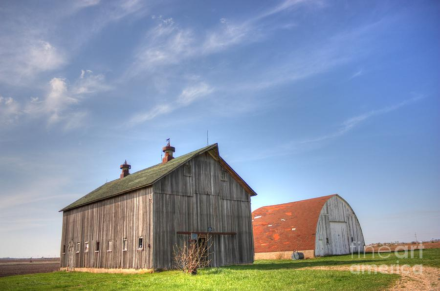 Barns Photograph - Twins by David Bearden
