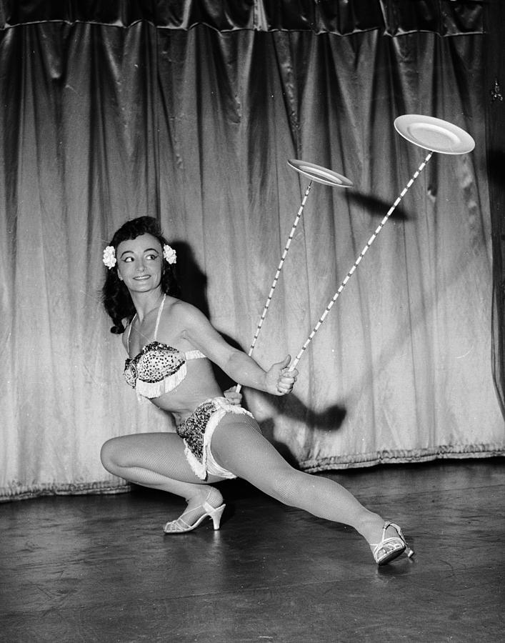 Adults Only Photograph - Twirl Girl by John Pratt