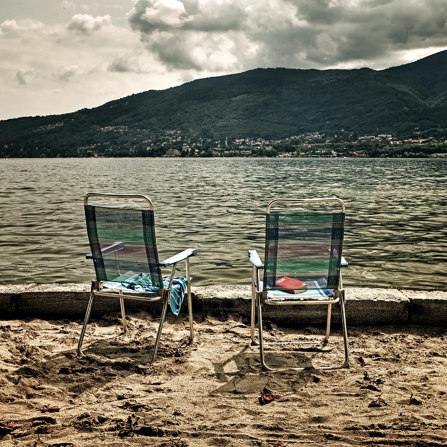 Two Photograph - Two Chairs by Joana Kruse