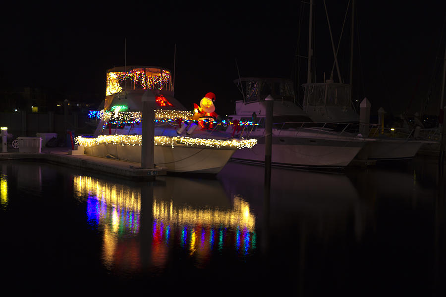 Christmas Photograph - Two If By Sea by Nicholas Evans