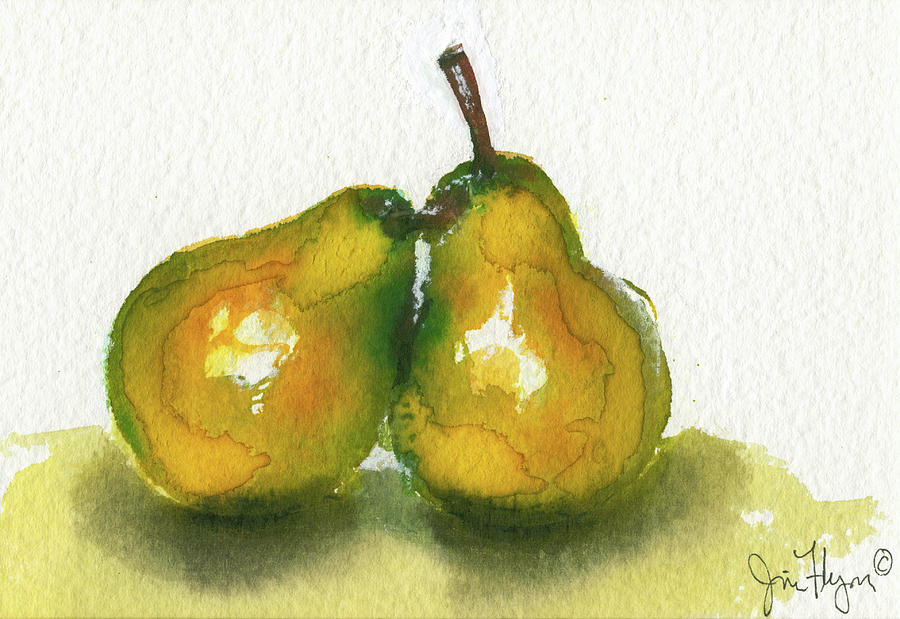 Two Pears by James Flynn