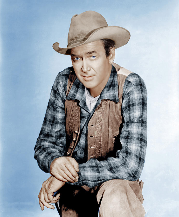 1961 Movies Photograph - Two Rode Together,  James Stewart, 1961 by Everett
