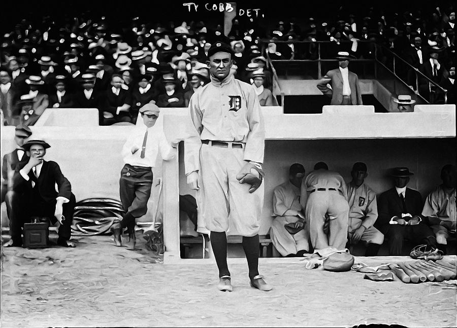 Ty Cobb Photograph - Ty Cobb by Bill Cannon