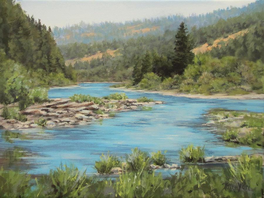 Original Painting - Tyee Morning by Karen Ilari