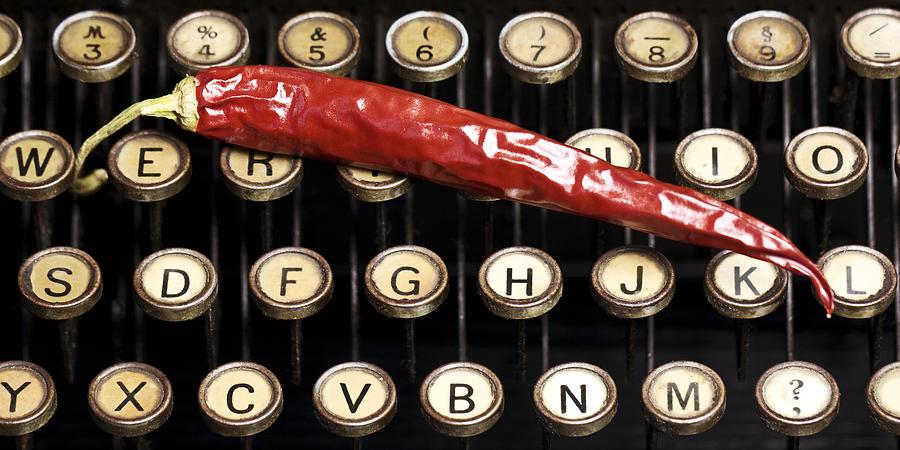 Typewriter Keys Photograph - Typewriter Keys Xt by Falko Follert