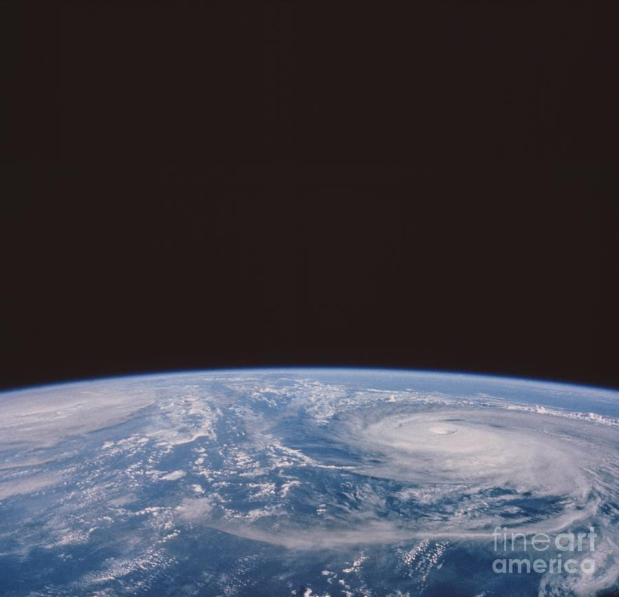 Clouds Photograph - Typhoons Odessa And Pat, Seen by NASA / Science Source