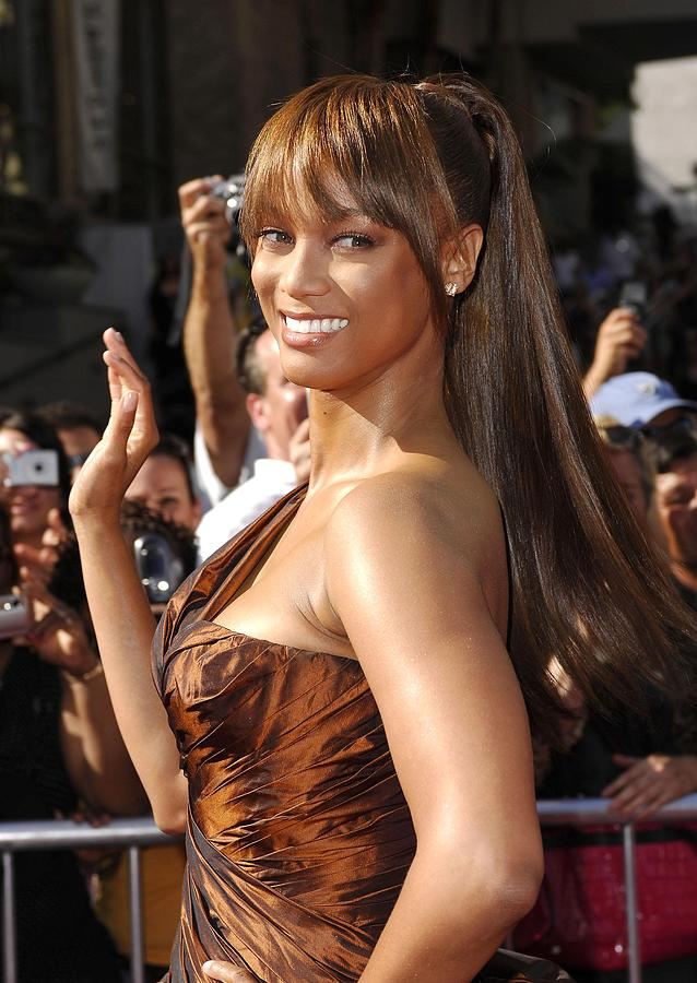34th Annual Daytime Emmy Awards Photograph - Tyra Banks At Arrivals For 34th Annual by Everett