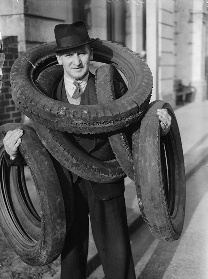 Adults Only Photograph - Tyred Out by Fox Photos
