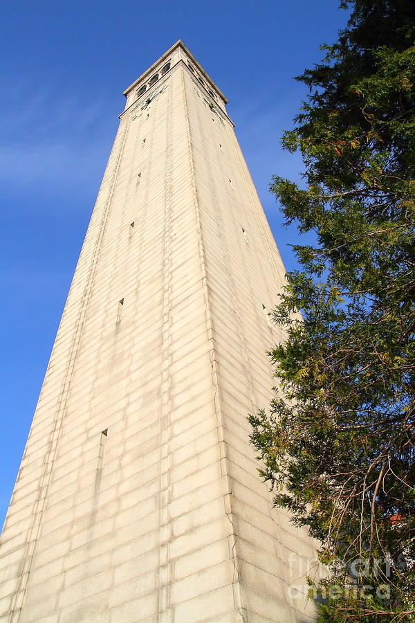 Uc berkeley sather tower the campanile clock tower for Tattoo shops junction city ks