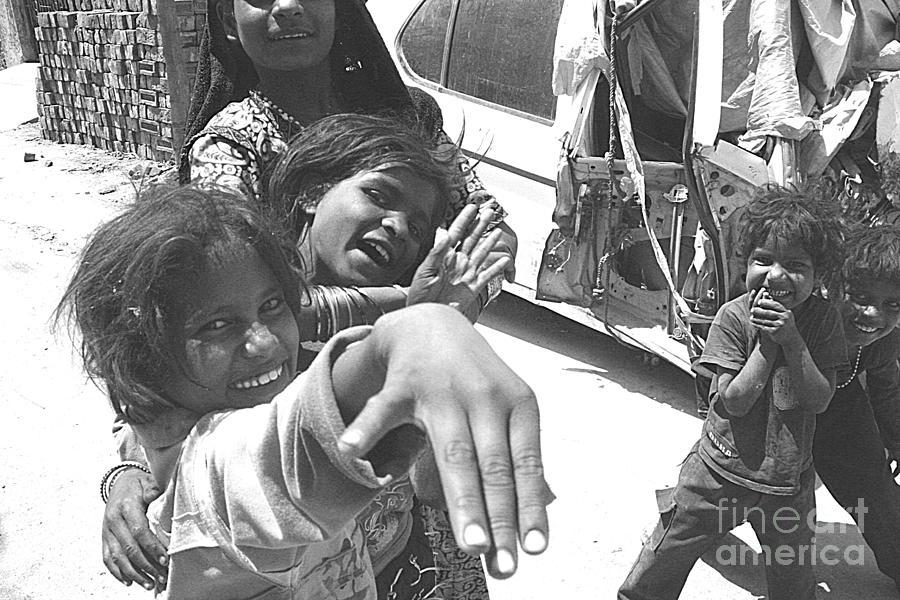 India Photograph - Udaipur Children by David Wenman