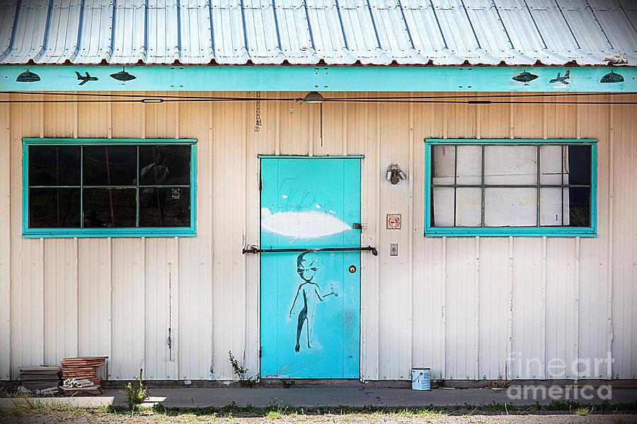 2012 Photograph - Ufo House by Matt Suess