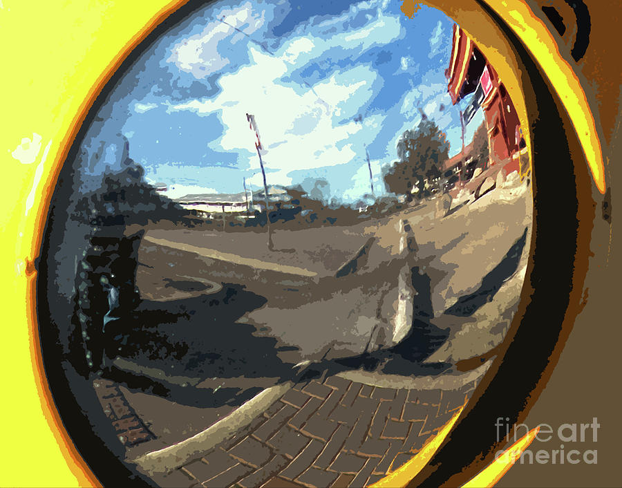 Around The Corner Photograph - Um Die Ecke by Joe Jake Pratt