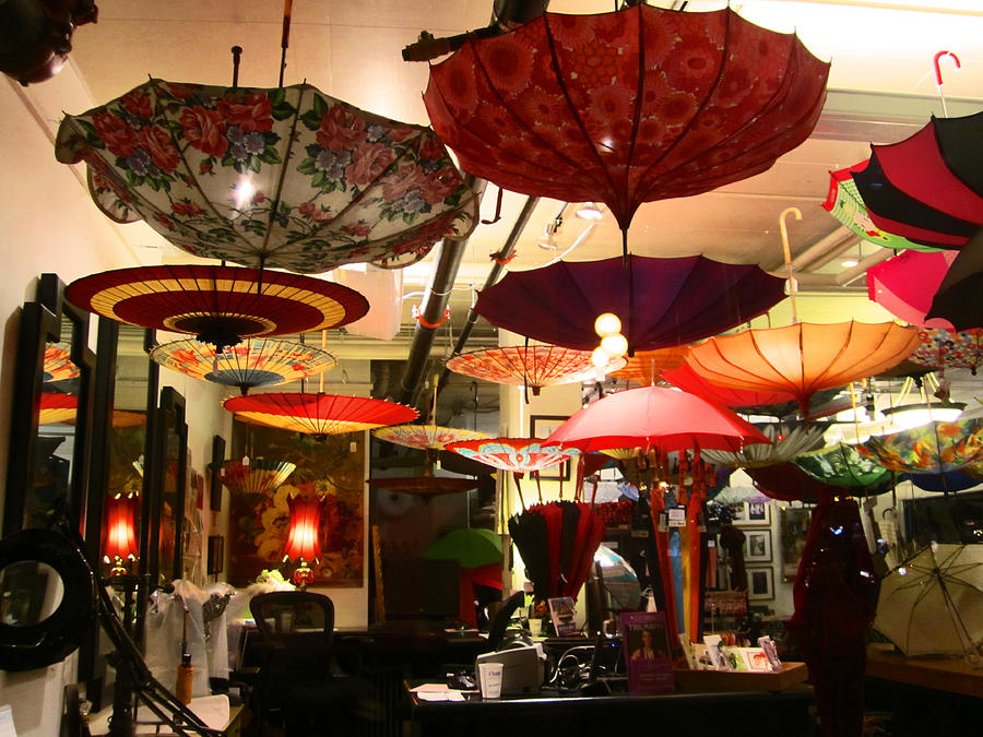 Umbrella Photograph - Umbrella Art by Kym Backland