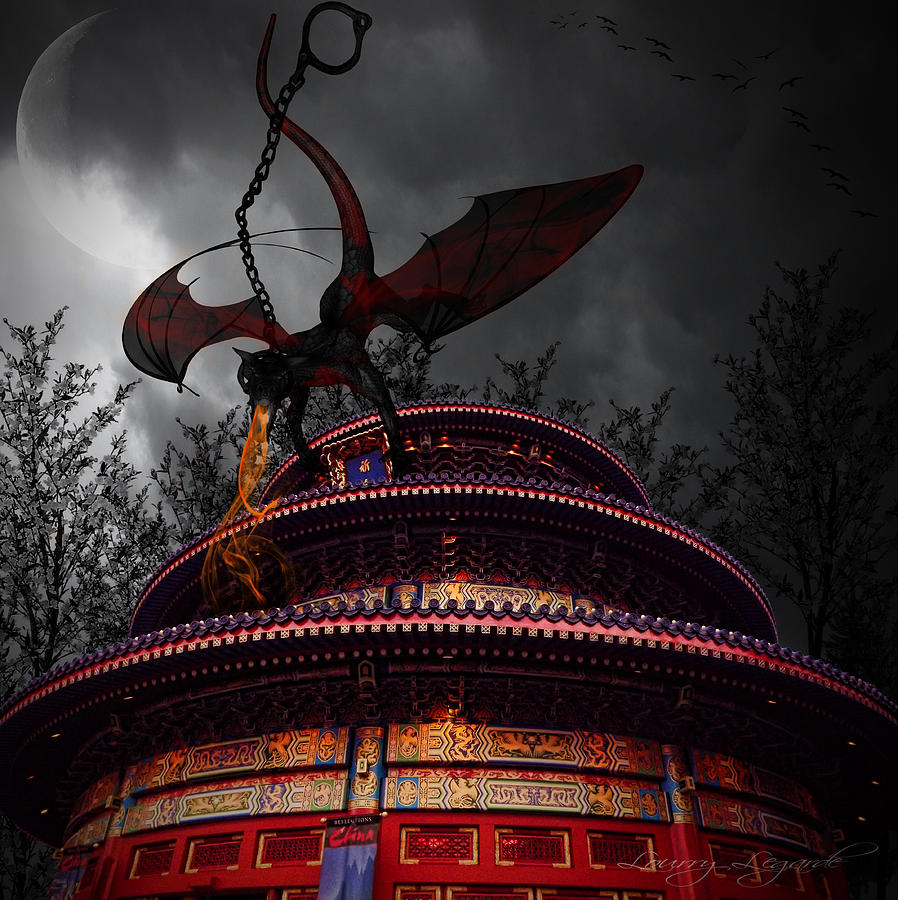 Walt Disney Photograph - Unchained Protector by Lourry Legarde