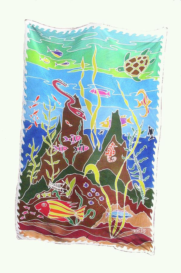 Ocean Painting - Under The Sea by Rollin Kocsis