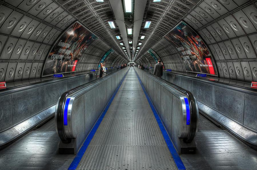 Architecture Photograph - Underground Life 01 by Svetlana Sewell