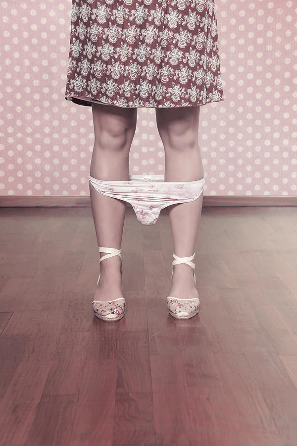 Female Photograph - Underpants by Joana Kruse