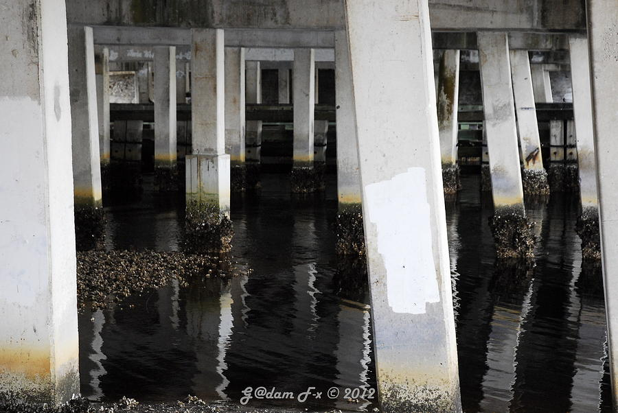 Print Photograph - Underpass The Reflections  by G Adam Orosco