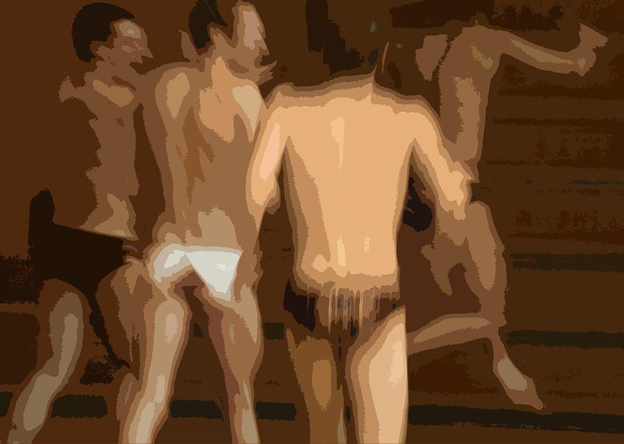 Boys Digital Art - Underwear by Elizabeth Alamillo