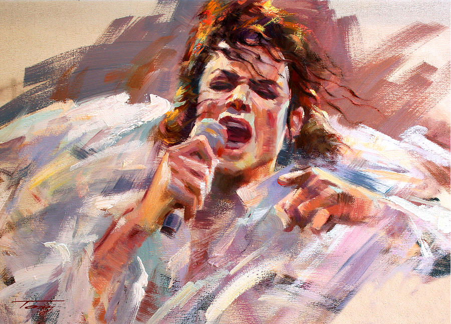 Mj Painting - Unforgettable Sight by Tony Song