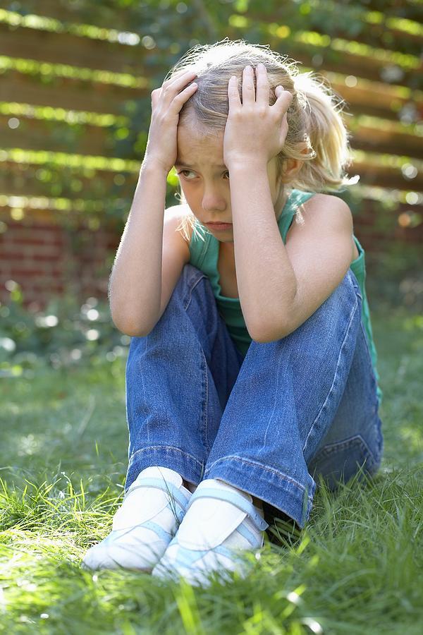 Human Photograph - Unhappy Girl by Ian Boddy