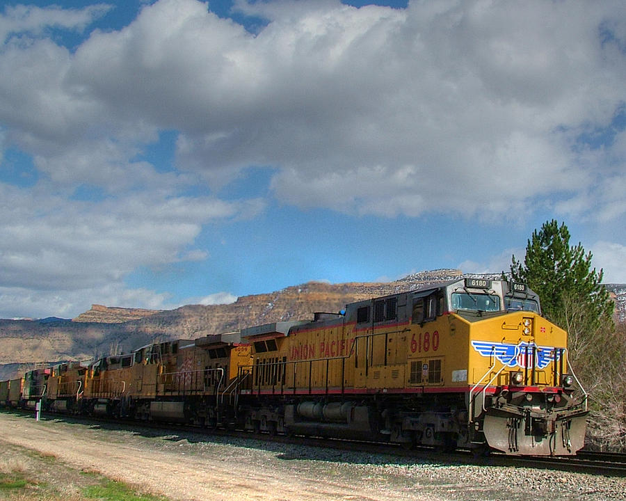 Union Pacific Coal Drag Entering Grand Junction Colorado