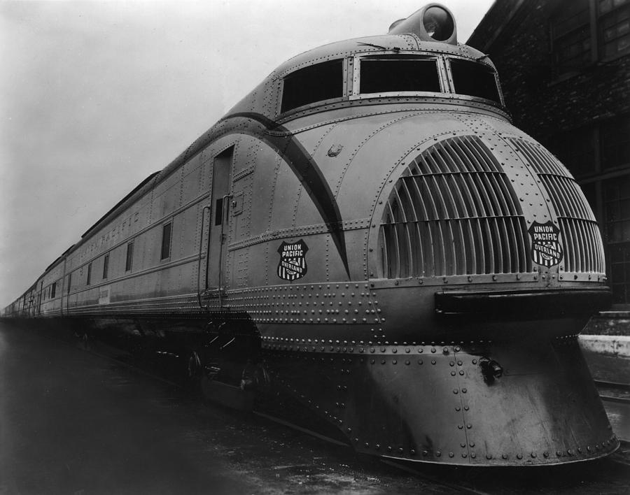Horizontal Photograph - Union Pacific Loco by Welgos