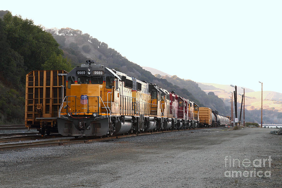 Transportation Photograph - Union Pacific Locomotive Trains . 7d10561 by Wingsdomain Art and Photography