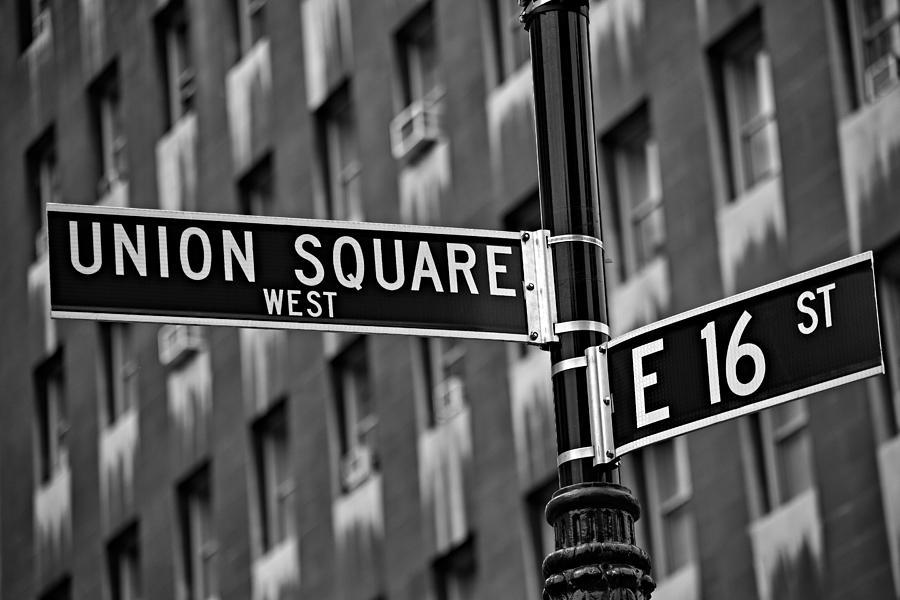 Union Square Photograph - Union Square West by Susan Candelario
