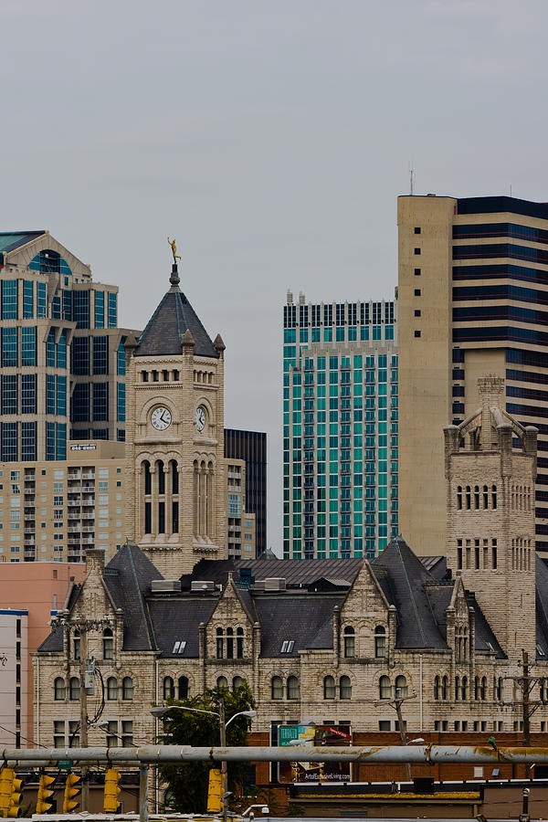 Union Station In Downtown Nashville Photograph