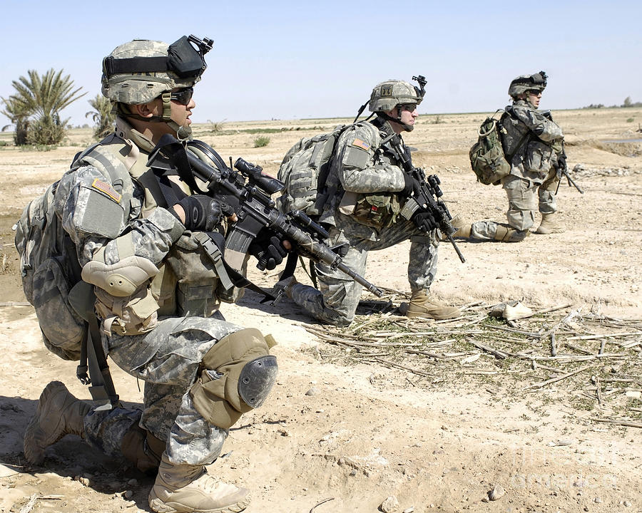 American army soldiers