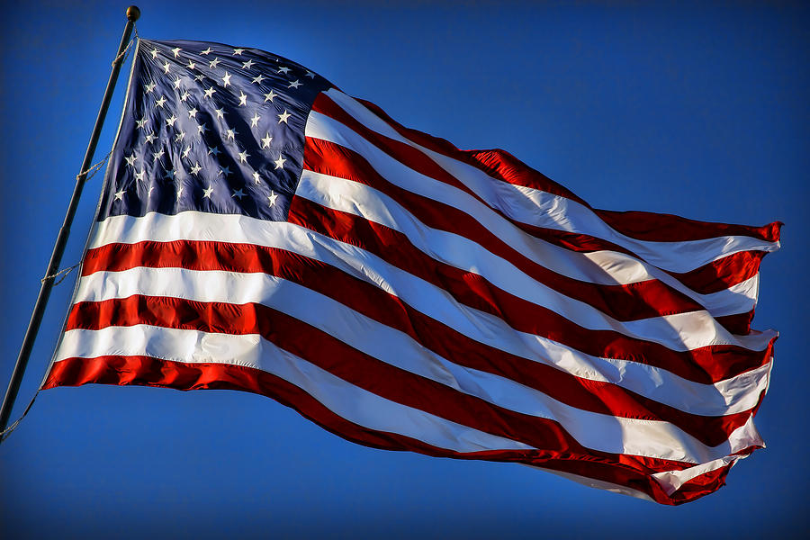 United States Of America Usa Flag Photograph By Gordon