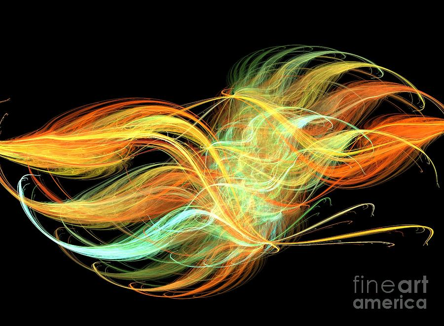 Apophysis Digital Art - Unity by Kim Sy Ok