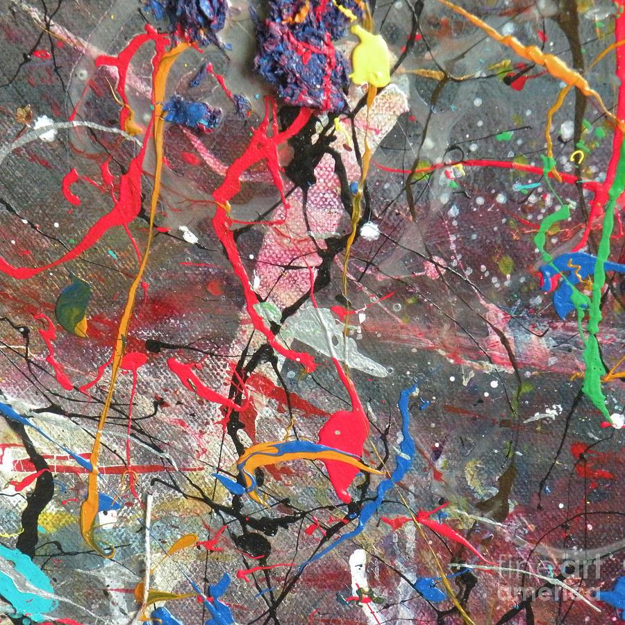 Nappy Head Art Mixed Media - Universal by Robert Daniels