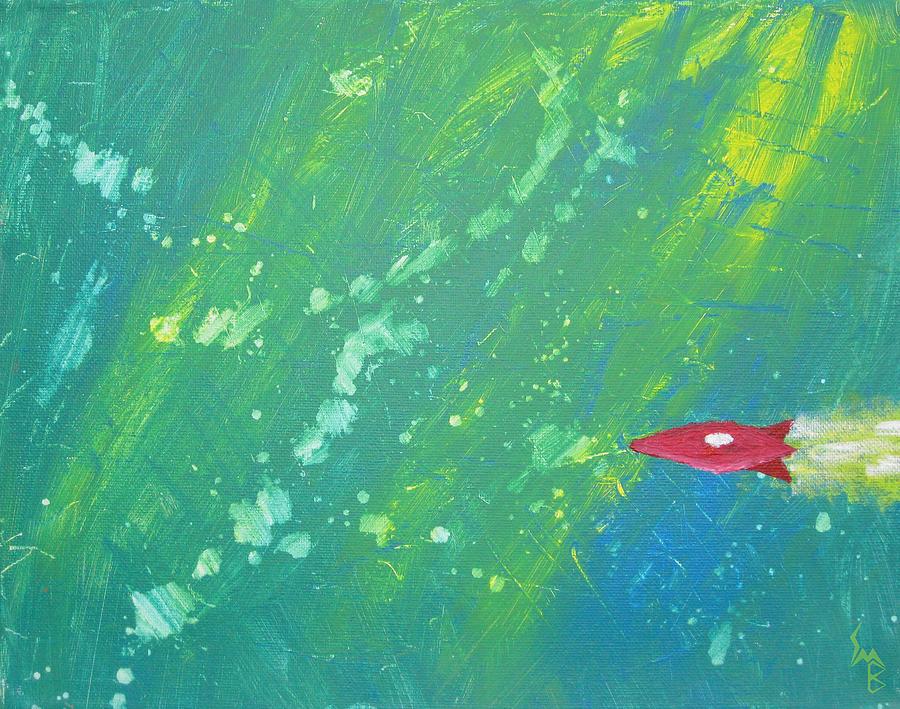 Shawn Ballard Painting - Universal Traversal by Shawn Ballard